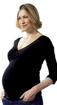 embarazada treintañera